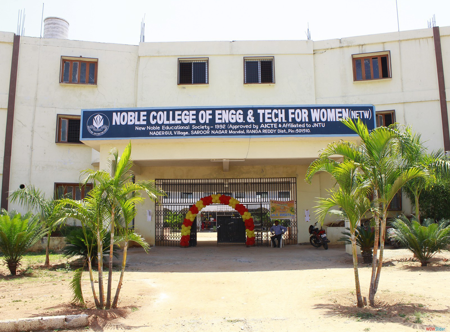 Noble College of Engineering and Technology For Women