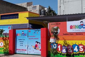 Rangoli Pre School Ghodasar